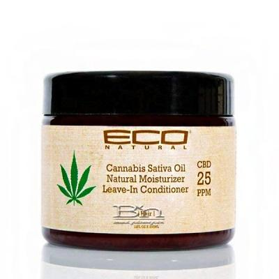 Eco Natural Cannabis Sativa Oil Natural Moisturizer Leave-in Conditioner 12oz