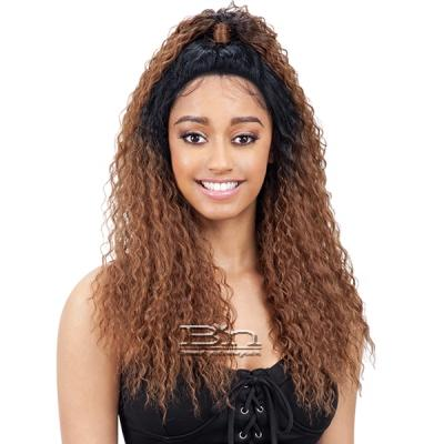 Model Model Synthetic Half Up Lace Front Wig - GIA