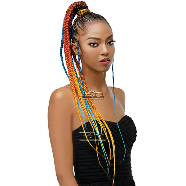 Innocence Hair Spetra Synthetic Braid - EZ BRAID RAINBOW 30
