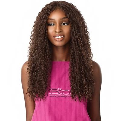Sensationnel Synthetic Hair Empress Natural Center Part Lace Front Wig - ALANI