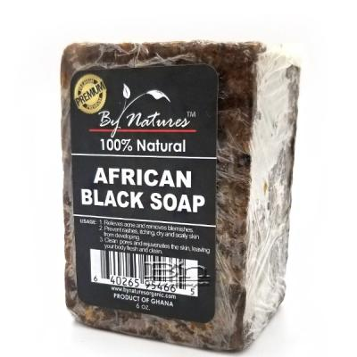 By Natures African Black Soap 6oz