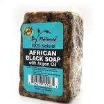 By Natures African Black Soap with Argan Oil 6oz