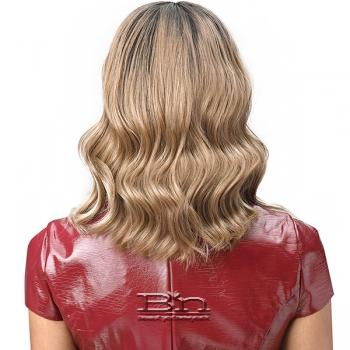 Bobbi Boss Synthetic Hair 5 inch Deep Part Lace Front Wig - MLF390 AMBER