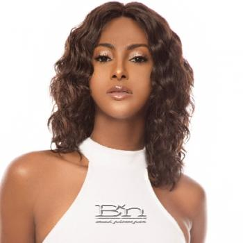 The Wig Black Pink 100% Brazilian Virgin Remy Human Hair Lace Front Wig - HBL VANILLA
