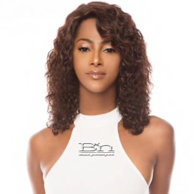 The Wig Black Pink 100% Brazilian Virgin Remy Human Hair Lace Front Wig - HBL HOT CHOCO