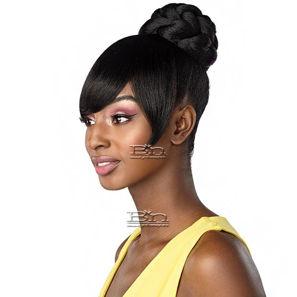 Sensationnel Synthetic Instant Bun with Bangs - GIA