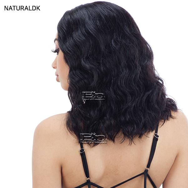 Naked 100% Brazilian Natural Human Hair Lace Front Wig - RHIA