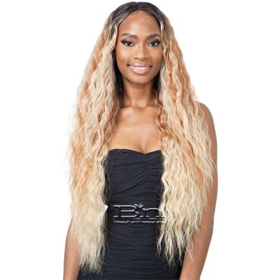 Mayde Beauty Lace and Lace Synthetic Lace Front Wig - CORAL
