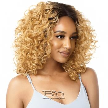 Outre Synthetic I-Part Swiss Lace Front Wig - FELICE