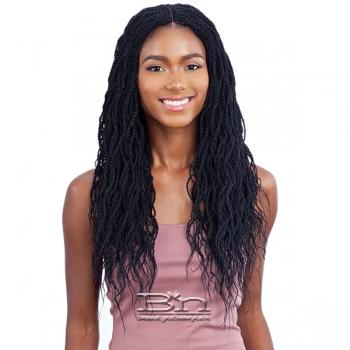 Freetress Equal Synthetic Lace Part Braid Wig - WAVY MILLION TWIST