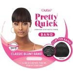 Outre Synthetic Pretty Quick Bang - CLASSIC BLUNT BANG