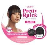 Outre Synthetic Pretty Quick Bang - CRESCENT CHINA BANG