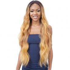 Mayde Beauty Lace and Lace Synthetic Lace Front Wig - CASCADE