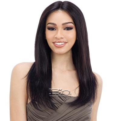 Naked 100% Brazilian Natural Human Hair Lace Front Wig - CANDICE