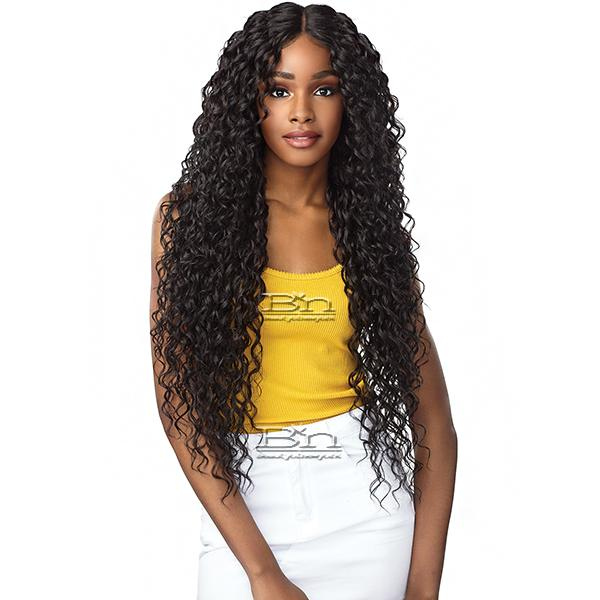 Sensationnel Synthetic Hair Empress Natural Deep Part Lace Front Wig - NAYANA