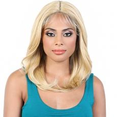 Motown Tress Synthetic Hair Deep Part Let's Lace Wig - LDP KACY