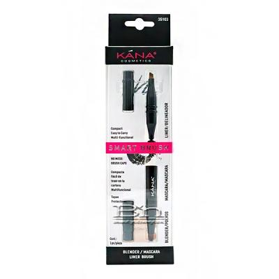 Kana Cosmetics Smart Brush Blender/Mascara/Liner Brush 35103