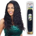 Naked 100% Human Hair Wet & Wavy Crochet  Braid - PRE LOOP TYPE LOOSE DEEP 14