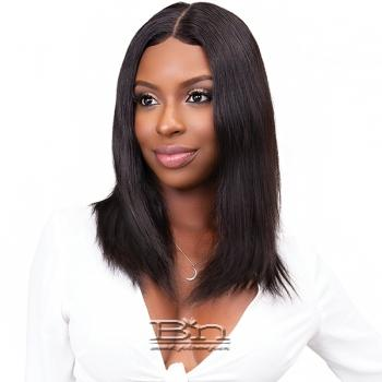 Janet Collection Aqua Tress Wet & Wavy 100% Natural Virgin Remy Hair Lace Wig - BOHEMIAN