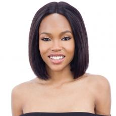 Mayde Beauty Lace and Lace 100% Human Hair Lace Front Wig - BLUNT BOB