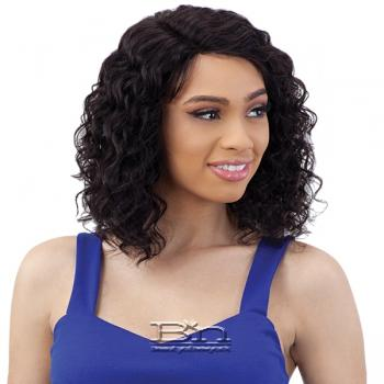 Naked 100% Brazilian Natural Human Hair Premium Lace Part Wig - DALE