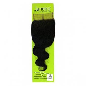 Janeiro 100% Virgin Brazilian Remy Hair 4x4 Full Lace Closure - BODY WAVE 12