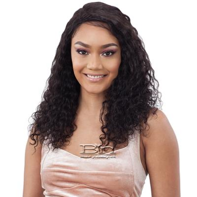 Model Model Nude 100% Brazilian Natural Human Hair Lace Front Wig - PARIS