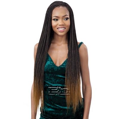 Freetress Equal Synthetic 4x4 Braid Lace Wig - MICRO MILLION TWIST 30