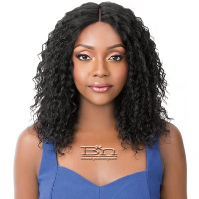 It's A Wig Salon Remi 100% Human Hair Lace Front Wig - WET N WAVY BOHEMIAN WAVE