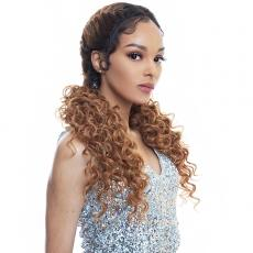 The Wig Human Hair Blend Lace Front Wig - LH DOUBLE DUTCH 02
