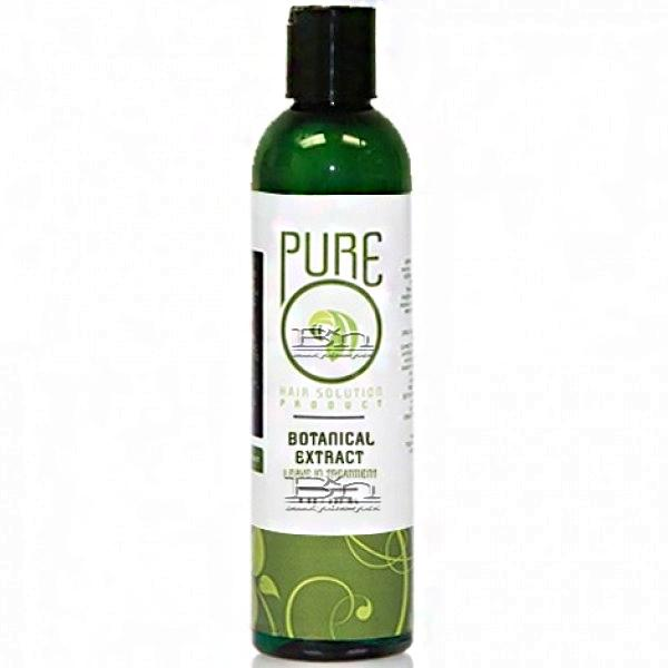 Pure O Botanical Extract Leave In Treatment 8oz