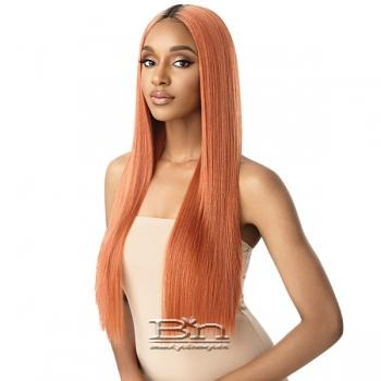 Outre Color Bomb Synthetic Swiss Lace Front Wig - SEDIYAH