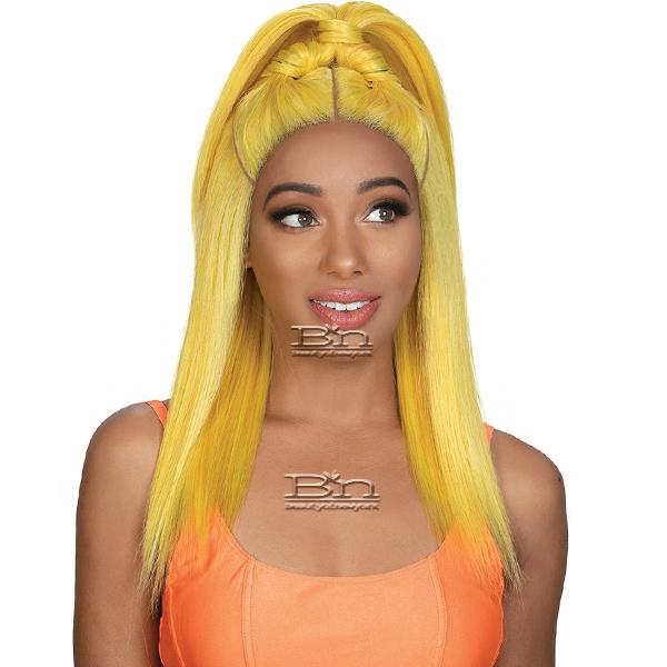 Zury Sis Beyond Synthetic Hair Twin Part Lace Front Wig - BYD TP LACE H BUZZ