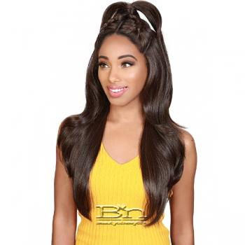 Zury Sis Beyond Synthetic Hair Twin Part Lace Front Wig - BYD TP LACE H BAO