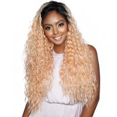 Isis Brown Sugar Human Hair Blend Lace Front Wig - BSN205 COLCA