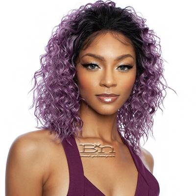 Mane Concept Brown Sugar Human Hair Blend Lace Front Wig - BSN211 CASCADES