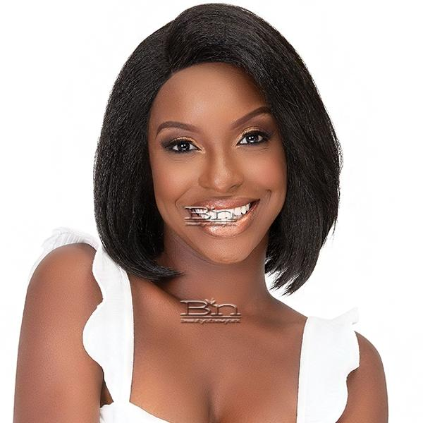 Janet Collection Natural Me Synthetic Hair Lace Wig - ANN
