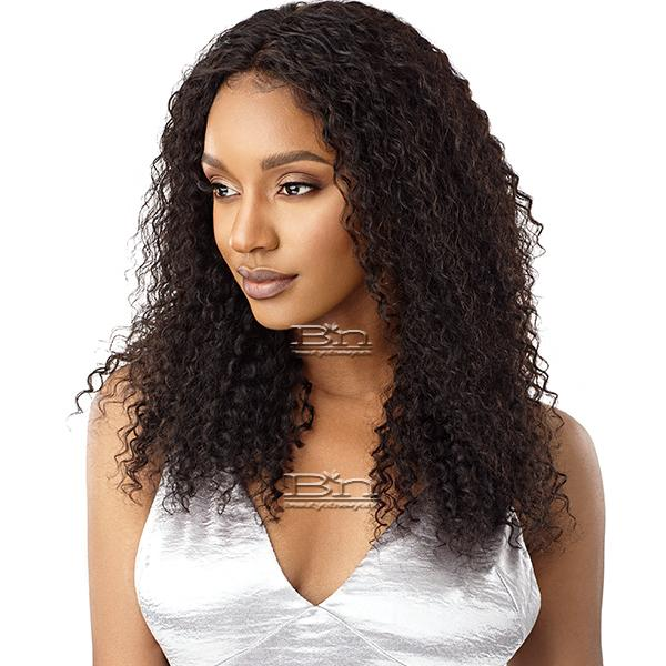Outre Mytresses Black Label 100% Unprocessed Human Hair 360 Frontal Lace Wig - NATURAL BOHEMIAN