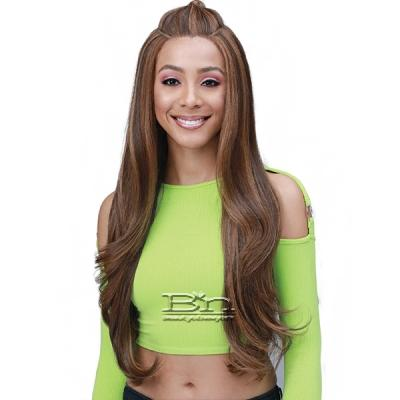 Bobbi Boss Synthetic Hair Unique Part Lace Front Wig - MLF373 BRAELYN