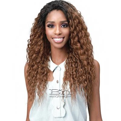 Bobbi Boss Human Hair Blend Full Cap Wig - MOGFC002 BRAZILIAN WAVE