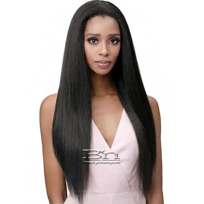 Bobbi Boss Human Hair Blend Full Cap Wig - MOGFC004 NATURAL STRAIGHT