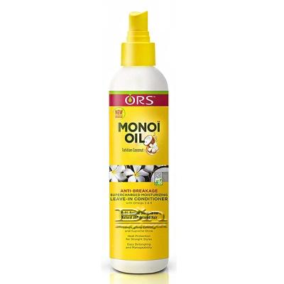 ORS Monoi Oil Tahitian Coconut Anti-Breakage Supercharged Moisturizing Leave-in Conditioner 8oz