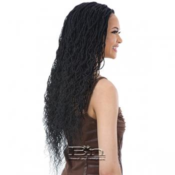 Freetress Equal Synthetic Lace Part Braid Wig - CURLY MILLION TWIST