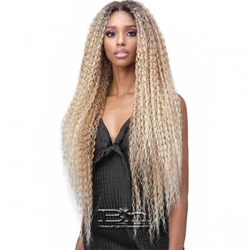 Bobbi Boss Human Hair Blend 13X7 Glueless Frontal Lace Wig - MBLF002 JULIA