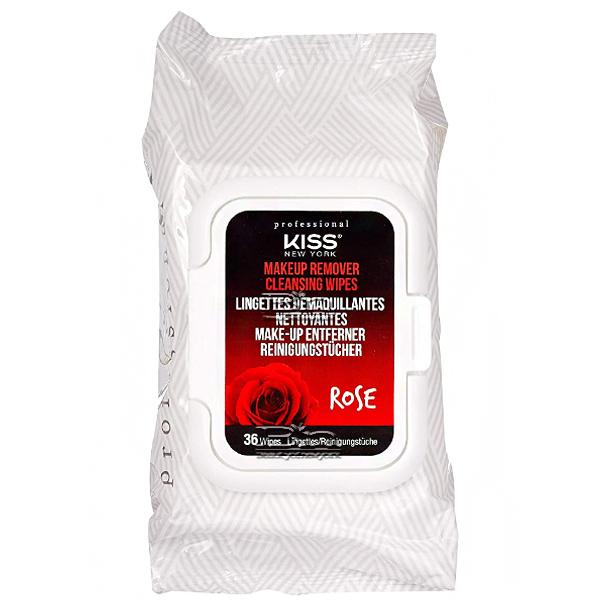 Kiss New York Makeup Remover Cleansing Wipes -36 Wipes