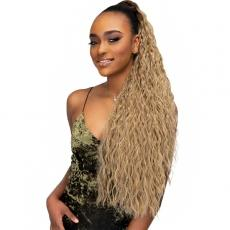 Janet Collection Noir Everytime Synthetic Ponytail - GUAVA