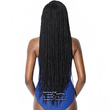Sensationnel Ruwa Synthetic Hair 4x4 Lace Parting Swiss Lace Wig - SENEGAL TWIST 32