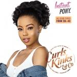 Sensationnel Curls Kinks & Co Synthetic Ponytail Instant Pony - BOSS LADY
