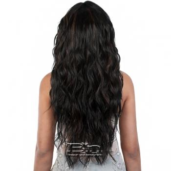 Motown Tress Synthetic Hair Let's Lace Wig - L UNICORN