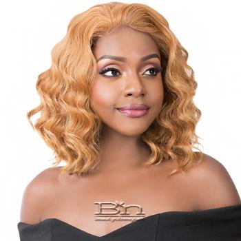 It's A Wig Synthetic Hair Wet N Wavy Lace Front Wig - SIMPLY LACE TIDES WAVE